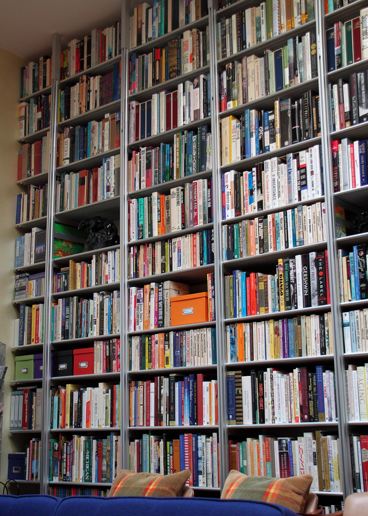 Wall Of Books A Friend S Impressive Wall Of Books Very