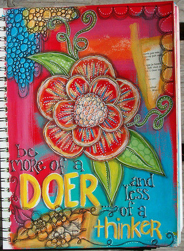 Be More Of A Doer | by artbyjoleneeborn