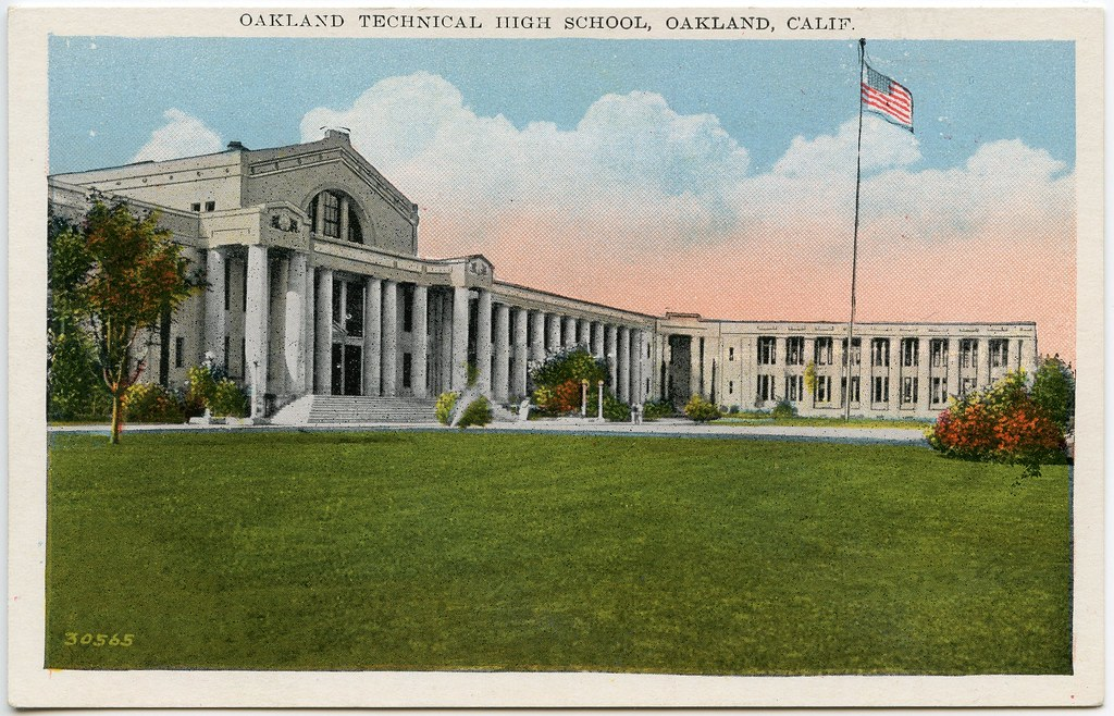 Oakland Technical High School, Oakland, Calif. (1915?) | Flickr ...