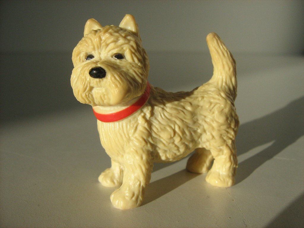 Fake Toy Dogs : Plastic dog toy of these dogs are i