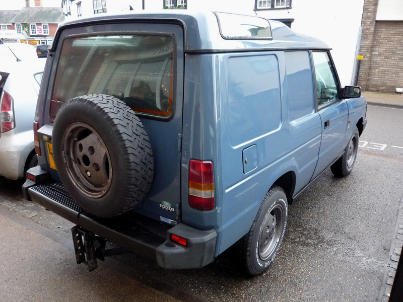 Land Rover Discovery 2 >> 1994 Land Rover Discovery Van (2.5 diesel) | Even got a matc… | Flickr