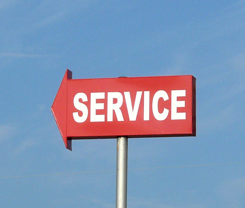 Service Sign Amarillo Texas Amarillo Texas 13 Sept