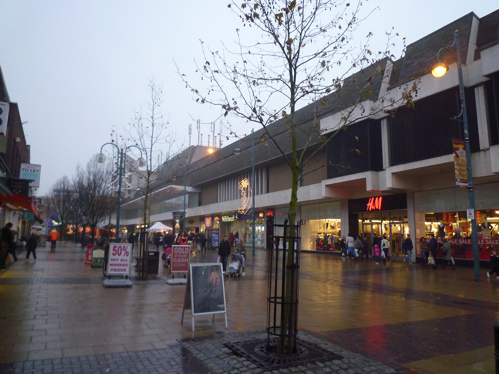 Broadway Shopping Centre, (branded as The Mall Bexleyheath from c. until reverting to its original name in ), is the principal covered shopping centre in the town centre of Bexleyheath and is the largest single covered shopping facility in the London Borough of Bexley.