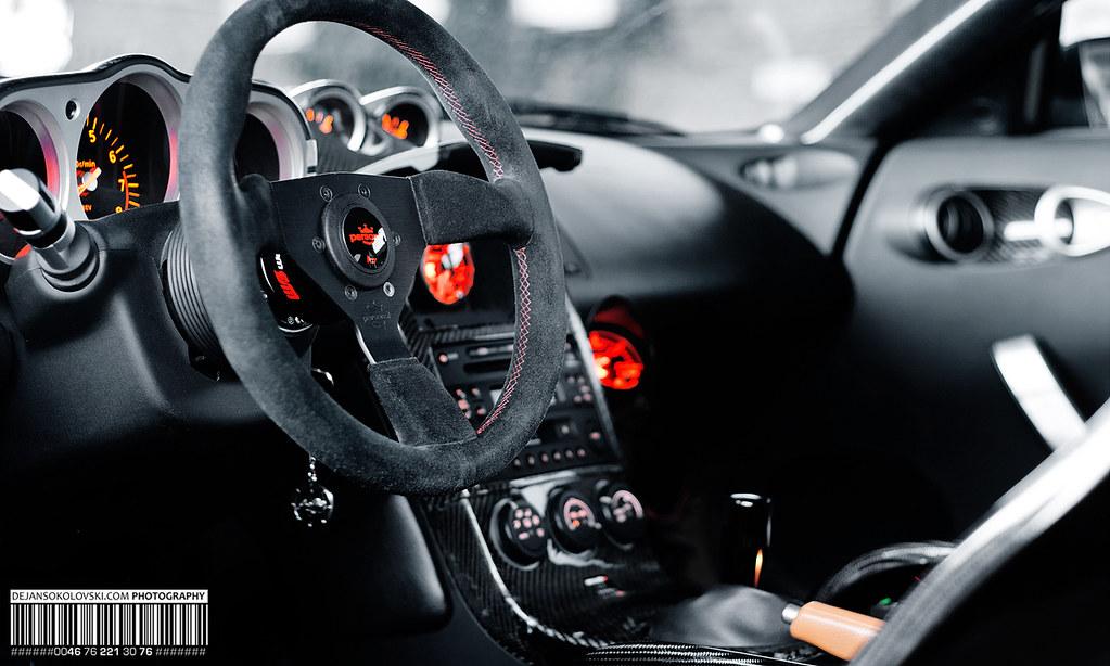 350z Interior Nissan 350z Shot Back In Autumn But