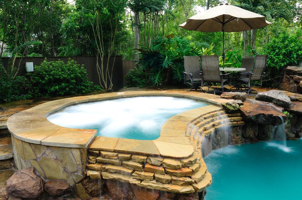 Platinum Pools Spa Grottos Raised Spa Cool Pools