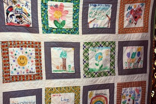 kyle's quilt close up | by artsy-crafty babe