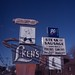 L-Ken's sign, Colonie, N.Y., Kodachrome 40