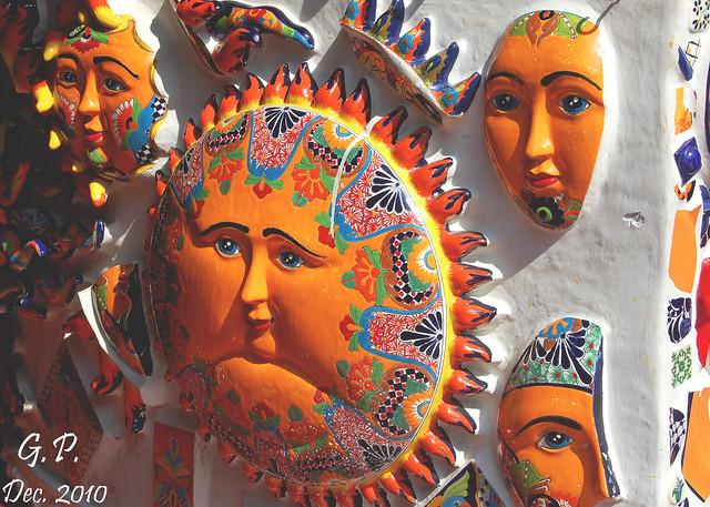 Mexican Sun & Moon Art   Flickr - Photo Sharing!