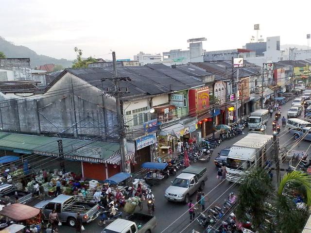 Downtown Phuket Food Market