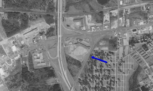 Hi-Way 82 Drive-In aerial photo 1972 | by OzonerGPS