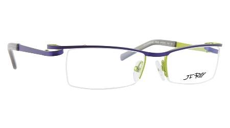 Lime Green Eyeglass Frames : J.F. Rey Filomene C. 7540 Eyeglasses Color:Purple Green ...
