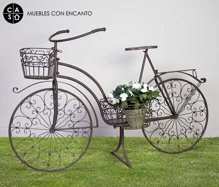 Bicicleta forja muebles con encanto flickr for Muebles con encanto online