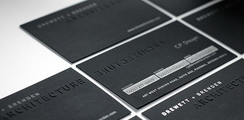 Drewett + Brenden Business Card | by Dave - B12