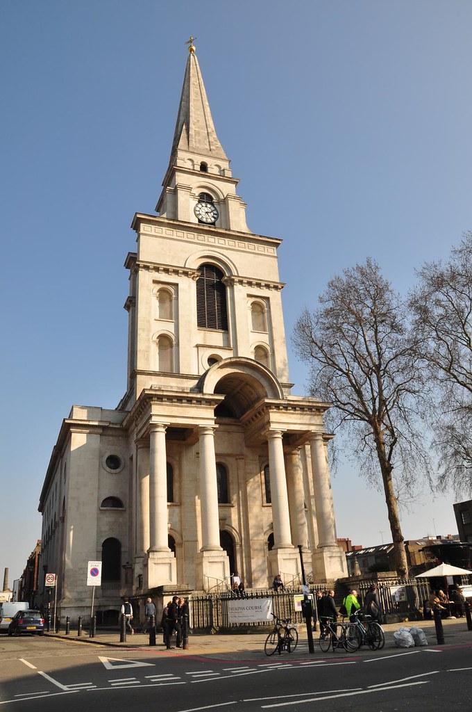 Spitalfields London: Christ Church Spitalfields London March 2011