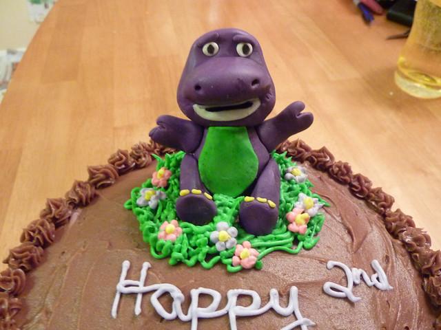 Barney Cake Topper Canada