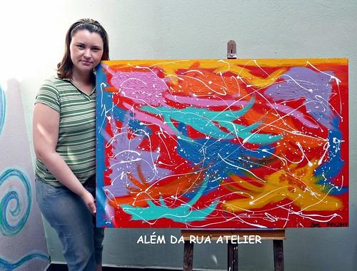 Curso pintura abstrata