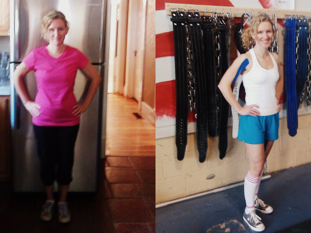 Crossfit before and after