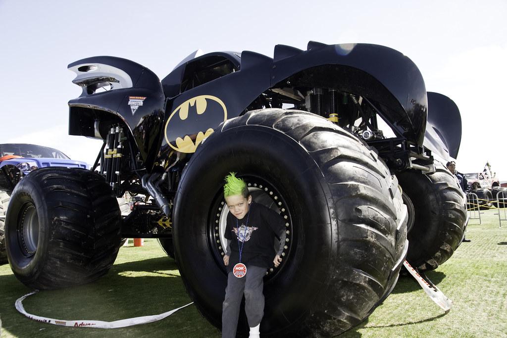 Jake in Batman Monster Truck | Chris S | Flickr