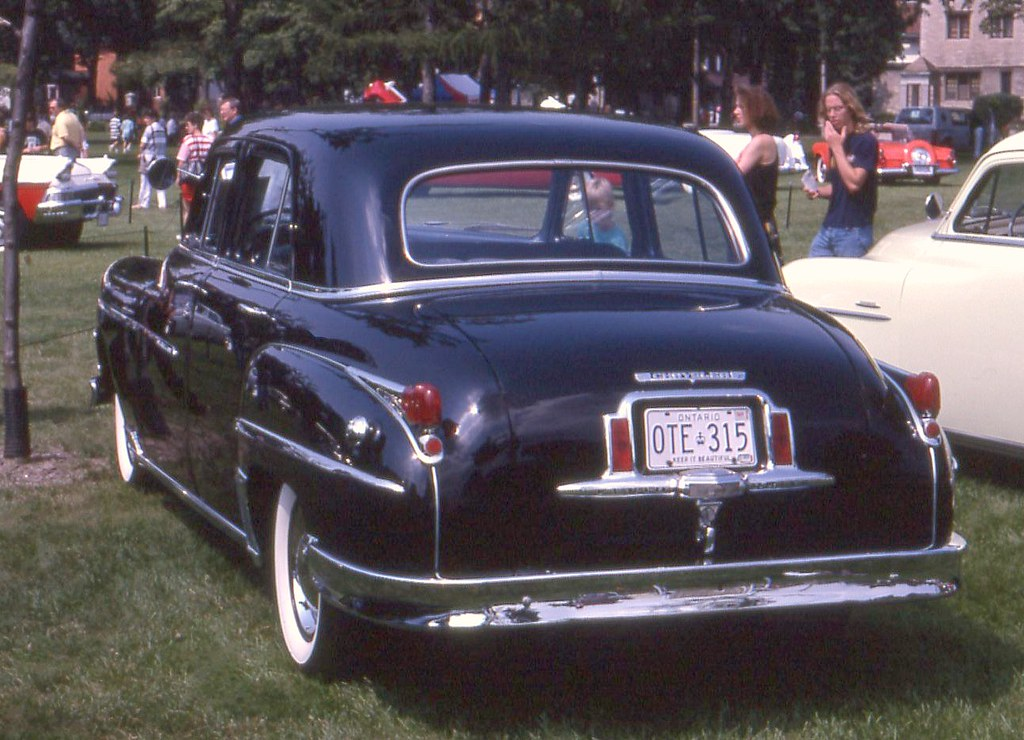 1949 Chrysler Windsor 4 Door Richard Spiegelman Flickr