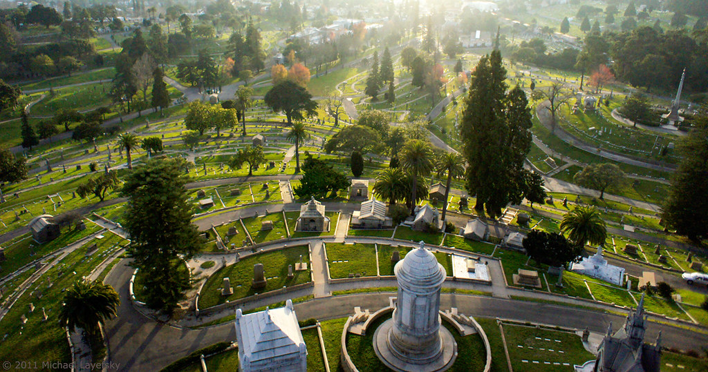 Ic Free Shipping >> Late afternoon at Mountain View Cemetery | View Large This l… | Flickr