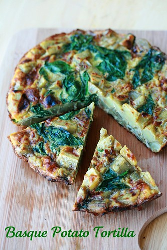 Basque Potato Tortilla - French Fridays with Dorie | by Food Librarian