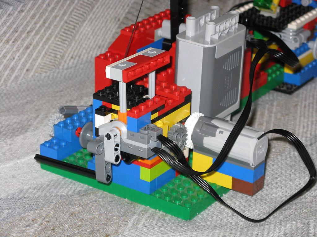 Lego Catapult Motor And Transmission Bvencel Flickr