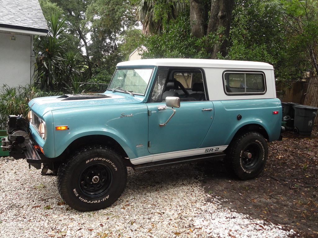 International Scout | 69 Scout just warming up in the