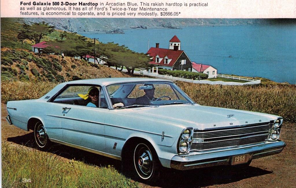 1966 Ford Galaxie 500 2 Door Hardtop Coconv Flickr