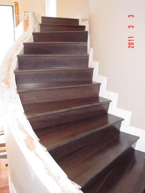Charming Wood Floor Stairs, Tucson, Prefinished 3/4 5 Inch Plank Piu2026 | Flickr