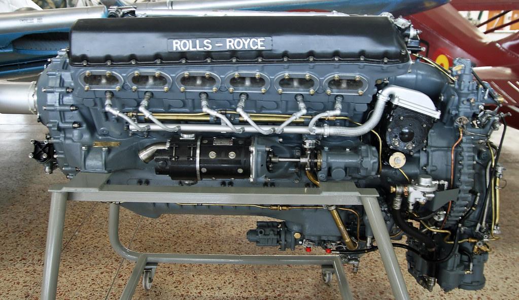 Rolls Royce Merlin 500 29 V 12 Although Better