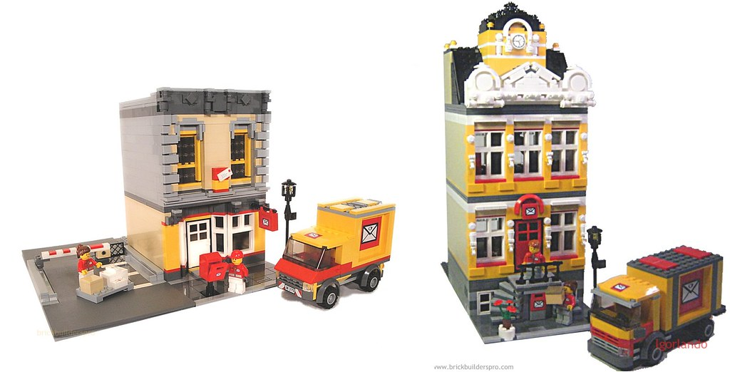 European Auto Works >> Lego City Post Offices | A Tale of Two Post Offices... Ameri… | Flickr