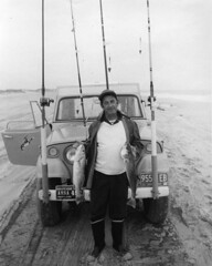 Vintage Surf Fishing