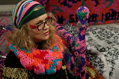 Olek: Knitting is for Puss***!