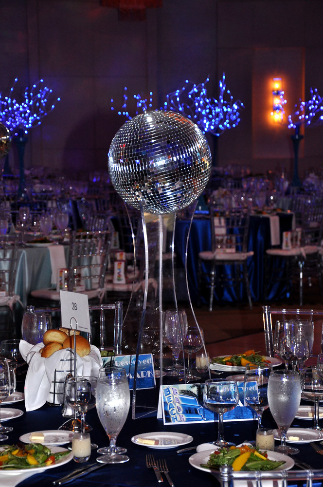 Disco Ball Centerpiece : Entertainment u0026 decor by Sixth ...