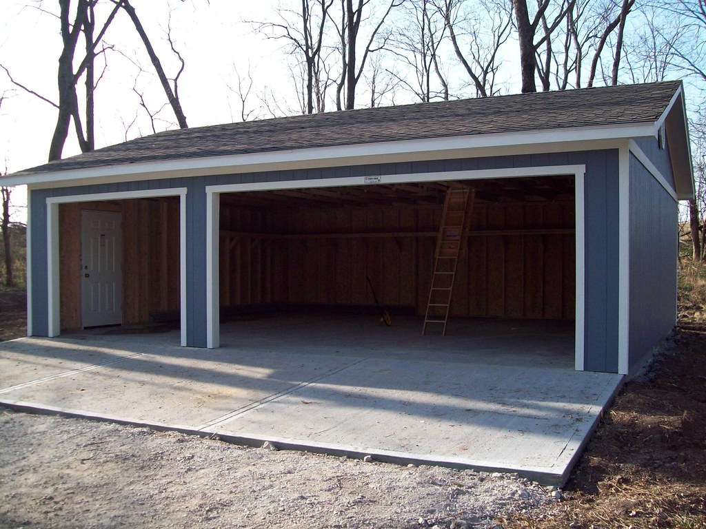 24x30 Premier Pro Ranch Garage Pictured Here Is A 24x30