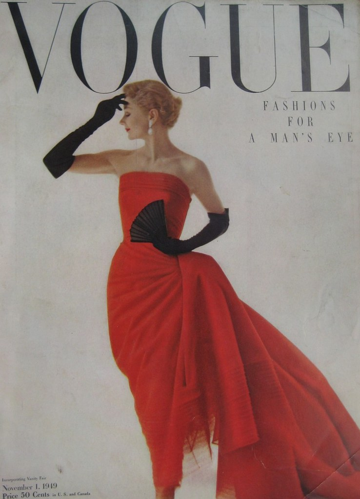 voguenovember 1949 covermodel and international