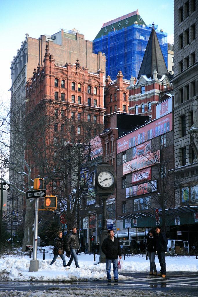 New York City, Lower Manhattan, Park Row : Potter Building