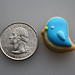 Tiny Bluebird Cookies