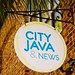 City Java sign