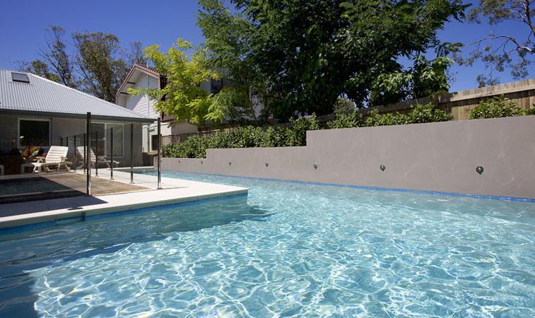Lap pool this beautiful swimming pool has been designed for Modular lap pool