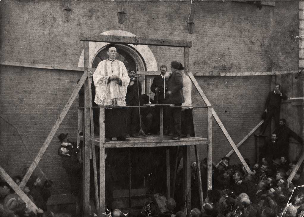 Hanging of Frank Clark | Here is a bit of a morbid post ...