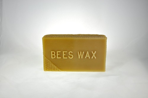 1 lb bees wax bar | by Thien Gretchen