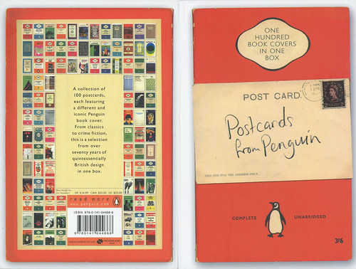 Penguin Book Back Cover : Penguin books postcards from one hundred book