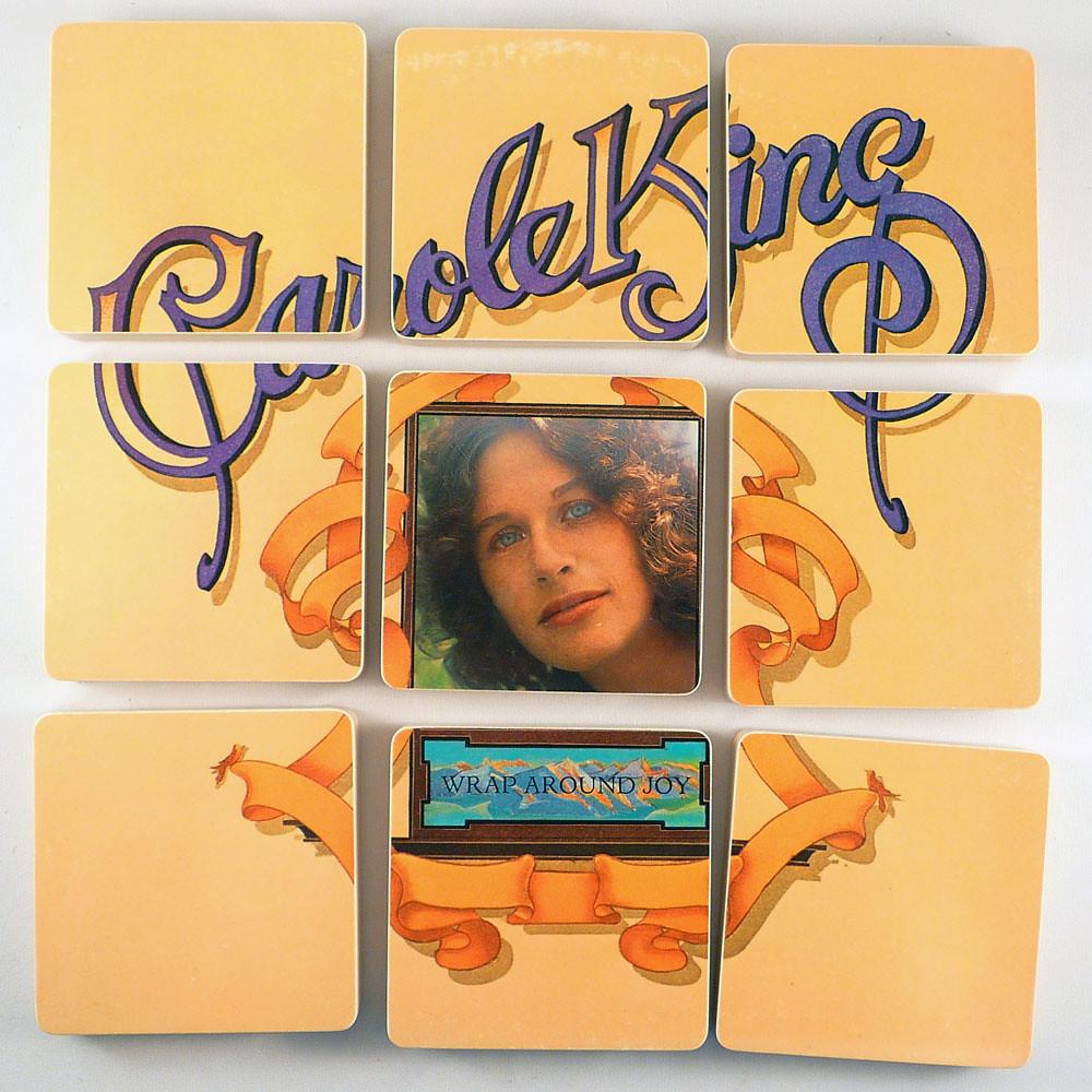 Carole King, Wrap around joy album cover coasters | Handcraf ...: https://www.flickr.com/photos/mccoycreations/5548116956