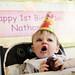 Nate 1st Birthday - Nom nom nom!