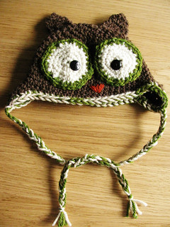 Baby Owl Hat | by Yarn-Madness