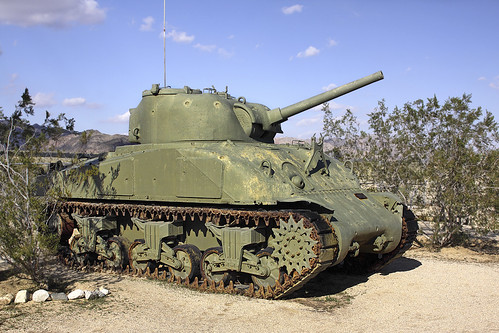 WWII Sherman Tank | by Alan Vernon.