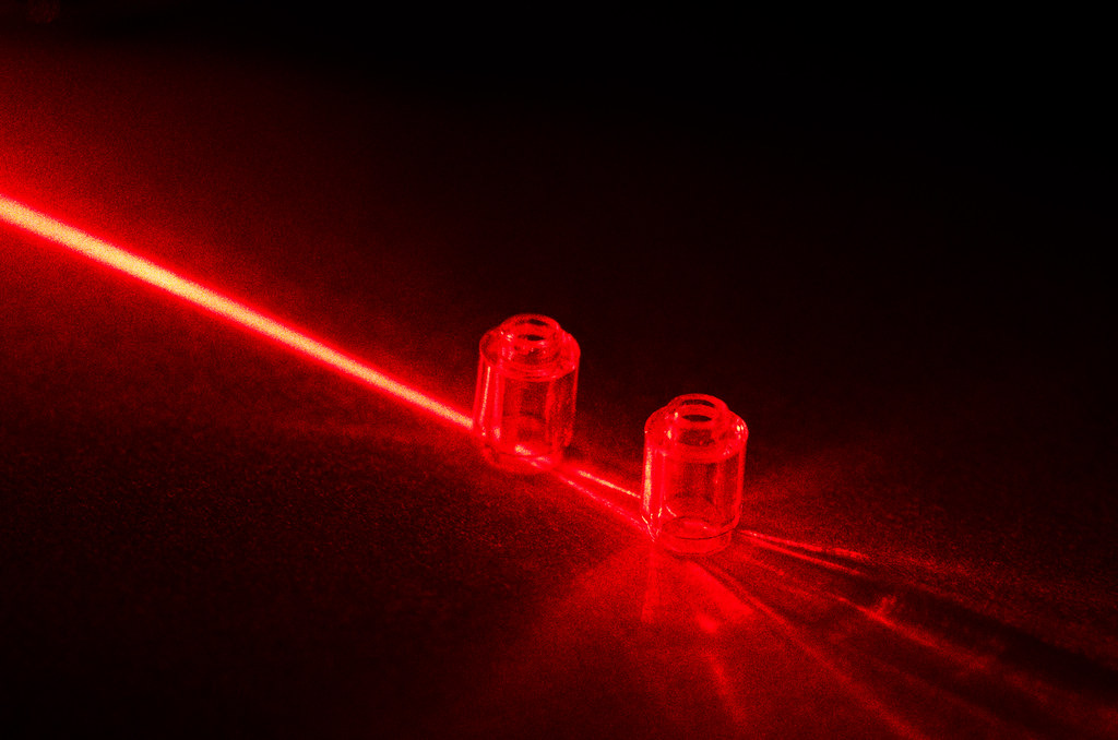 Red Lego Laser Lens Experimenting With The Optical