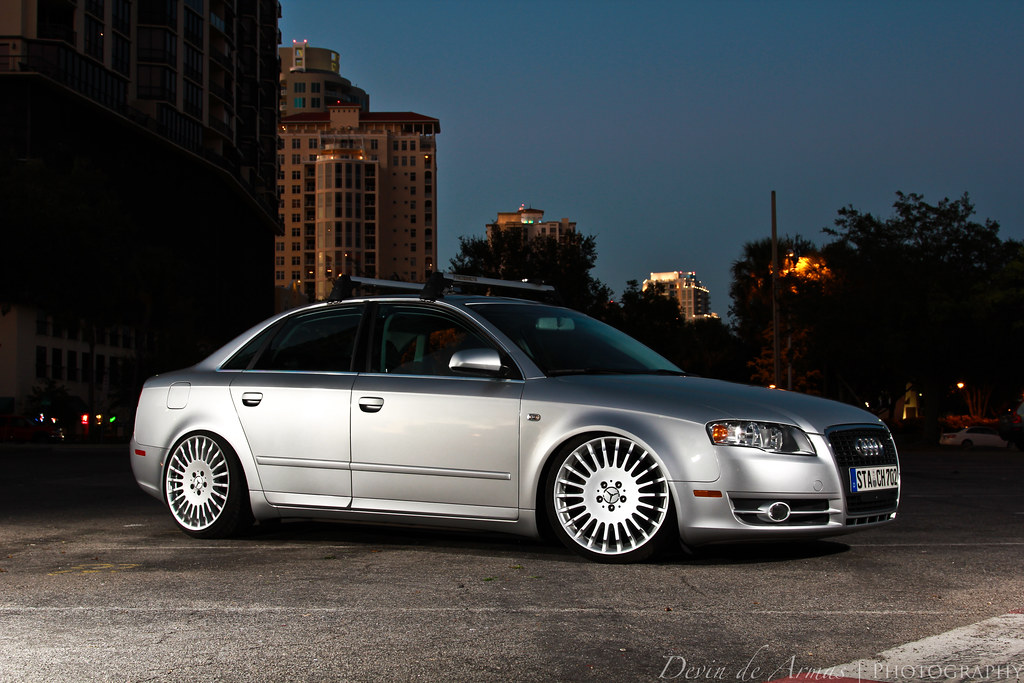 Vance S B7 Audi A4 Met Up The Other Night In Downtown St