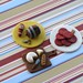 Wine and Cheese Cupcake Toppers